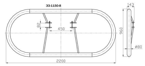 Экраны защитные ЭЗ-1150-8, ЭЗ-1150-9, ЭЗ-1150-22