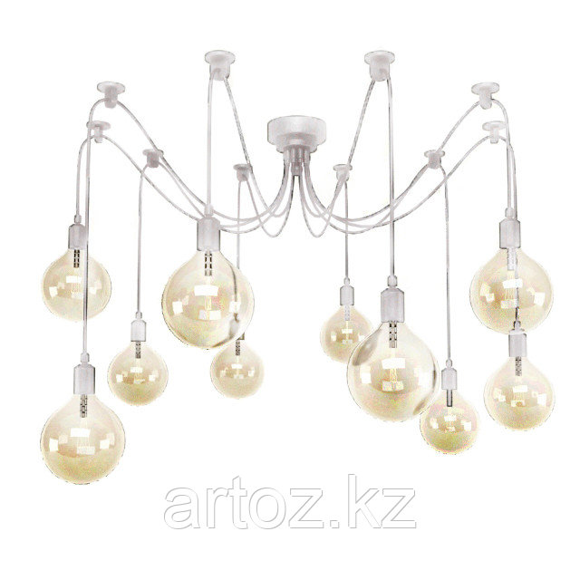 Люстра Edison Chandelier (white)