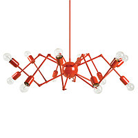 Люстра Octopus chandelier (red)
