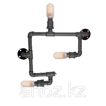 Настенная лампа Industrial steampunk pipe-3 (№32), фото 2