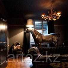 Напольная Лампа Horse lamp floor, фото 3