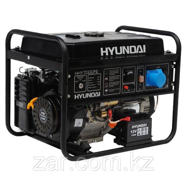 Бензиновый генератор Hyundai HHY 7000FE 5кВт