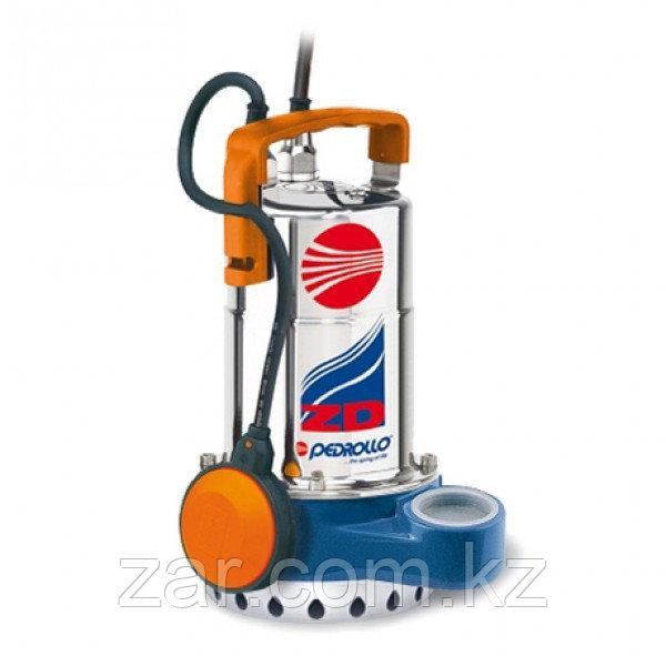 Погружной дренажный насос для сточных вод Pedrollo ZDm 1AR-E