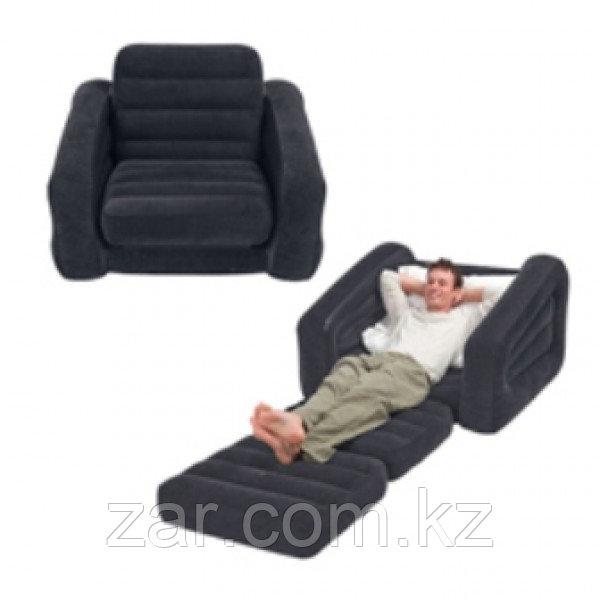 Надувное кресло трансформер Intex 68565 (218*109*66 см)