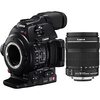 Canon EOS C100 Mark II Cinema EOS Camera  kit EF-S 18-135mm IS STM