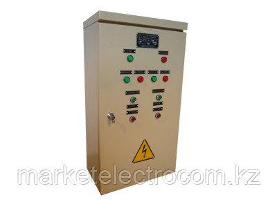 Шкафы управления водонапорной станцией второго подъема на 2 насоса (основной и резервный) ШУВНС-0,4/ХХХ-У3.