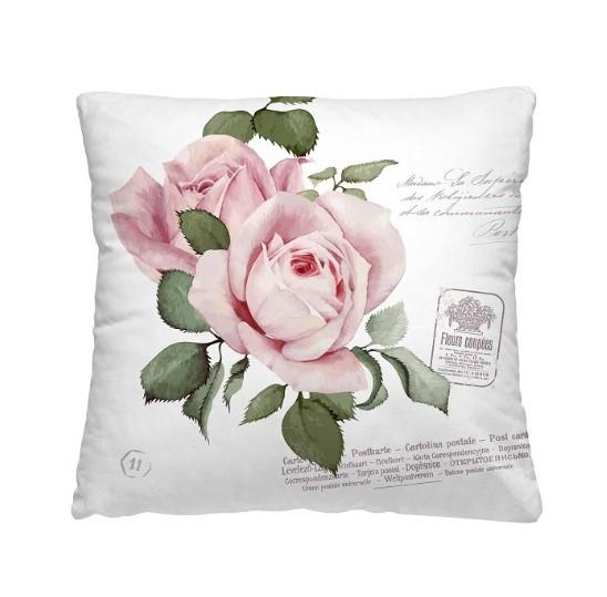 """Декоративная подушка """"Розовый бутон"""""""