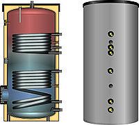 Водонагреватель (бивалентный) ESS-PU 200 л, фото 1