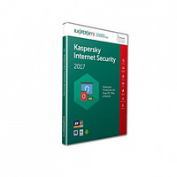 Антивирус Kaspersky Internet Security 2017 Box, 2 ПК лицензия 1 год (KL1941Box17S)