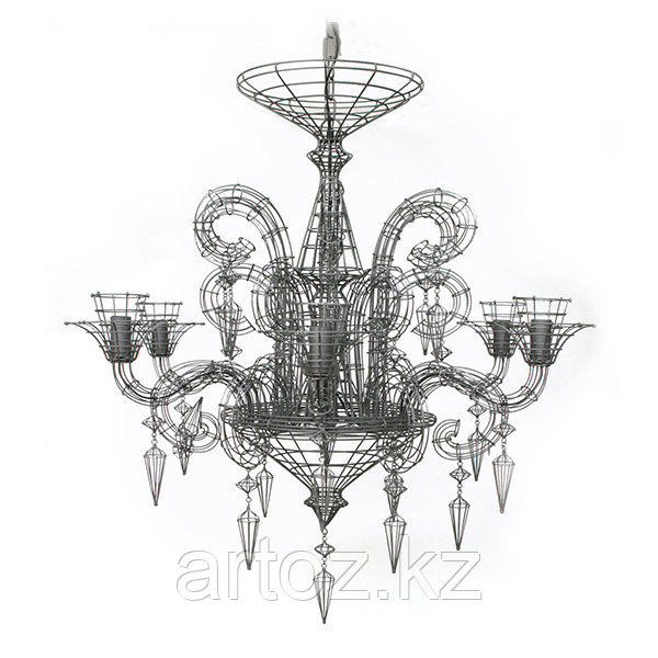 Люстра NEO-BAROQUE CHANDELIER(black)