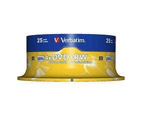 DVD+RW SP-025 4X 4.7GB Verbatim, фото 2