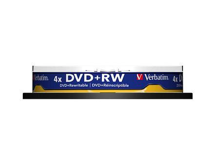 DVD+RW SP-010 4X 4.7GB Verbatim, фото 2