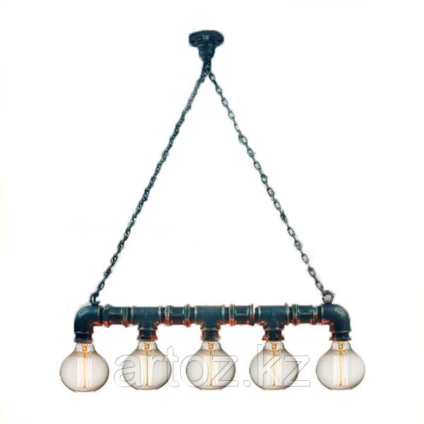 Лампа Industrial Pipe Lamp in chain-6 (№7)
