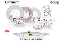 Столовый сервиз Luminarc Ambiente Rozana Begonia 46 предметов, фото 1