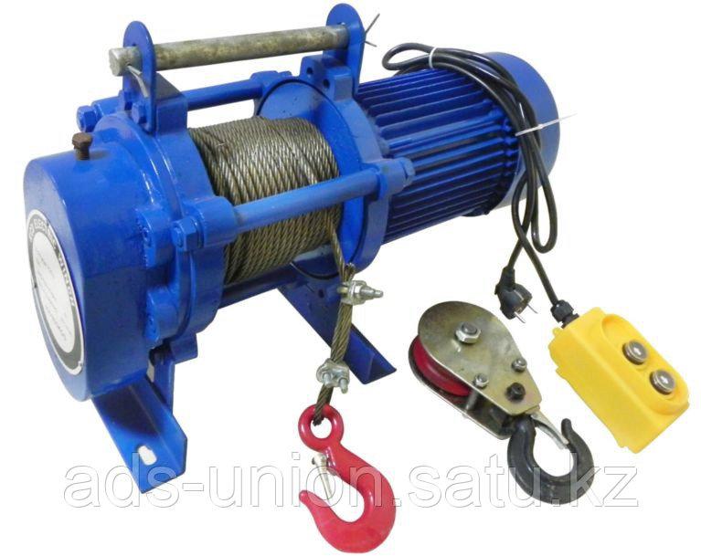 Лебедка электрическая KCD500 гп 500кг/1000кг (H=60м/30м) 380В