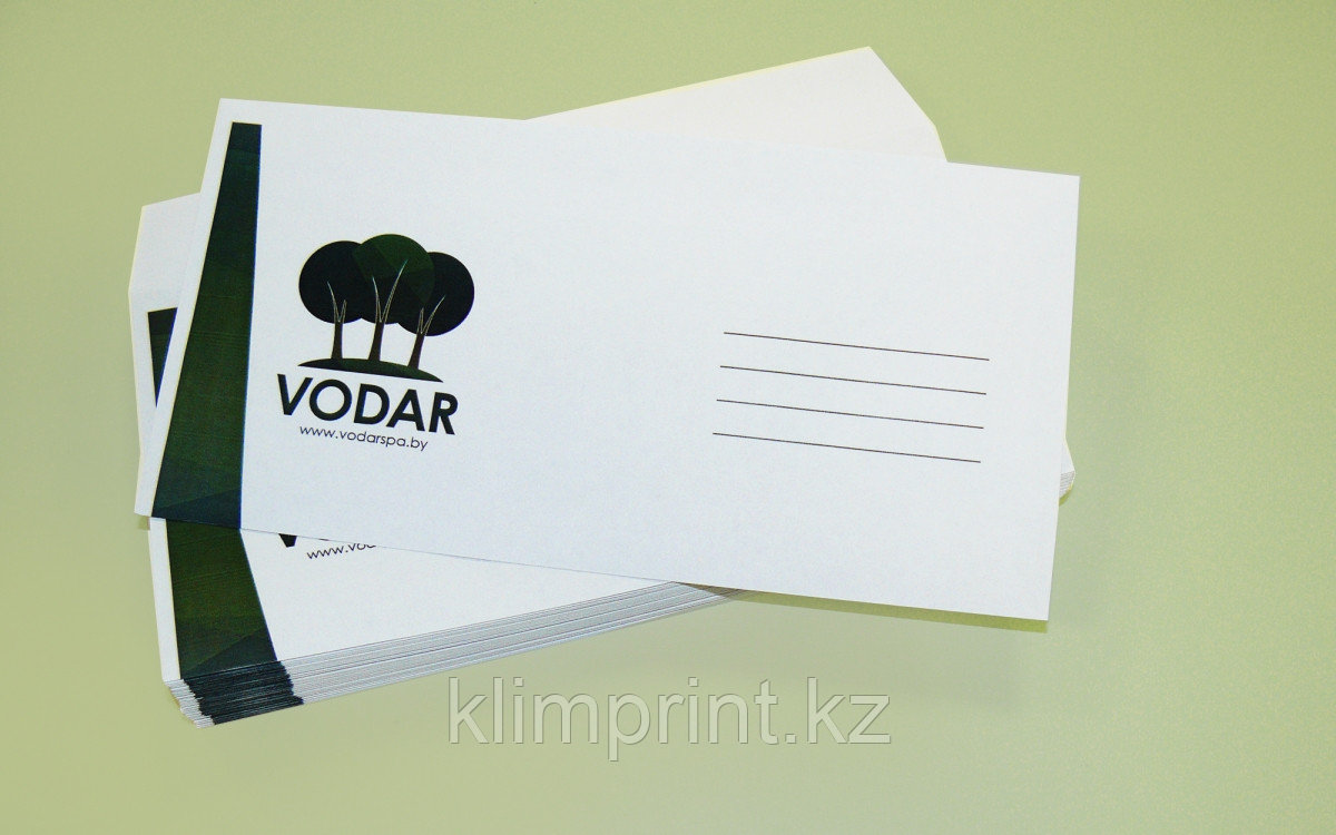 Печать на конвертах А5