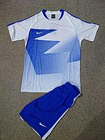 Форма футбольная Nike(голубая)