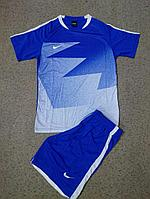 Форма футбольная Nike(синяя)