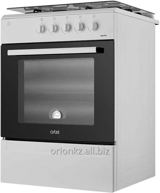 APETITO 10-E (60X60) с позж подс эл духовка (серый)