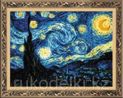 """Набор для вышивания крестом """"Ван Гог. Звёздная ночь"""""""