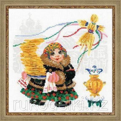 """Набор для вышивания крестом """"Масленица, Блины"""""""