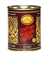 Индийский растворимый кофе (JFK CLASSIC), 200  г.