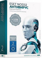 Антивирус ESET NOD32 Platinum Edition - лицензия на 2 года, 3ПК (NOD32-ENA-NS(BOX)-2-1 KZ)