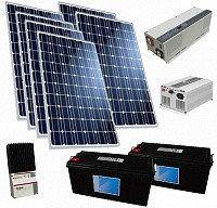 Солнечная электростанция 9.6 кВт/сутки(24В)ГАРАНТИЯ 1 ГОД Подходящий вариант для субсидирования