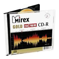 CD-R Mirex  GOLD 700 Мб 24х (уп. Slim 1 шт)