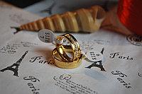 "Двойные кольца для влюбленных ""Не забывай меня""*, фото 1"