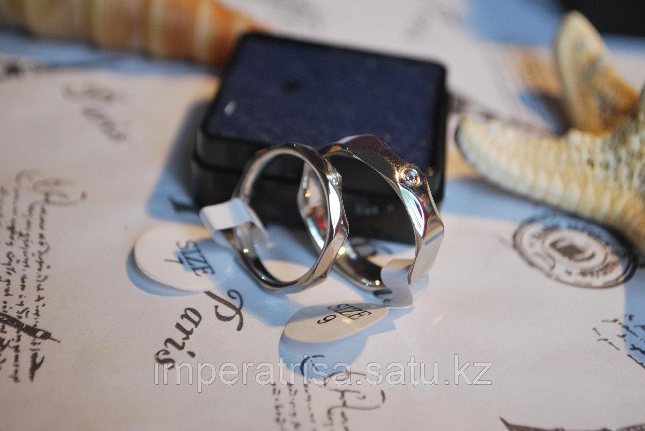 """Двойные кольца для влюбленных """"Преданность""""*"""