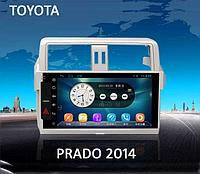 Автомагнитола TOYOTA ELEMENT-5   TOYOTA-2014  Land Cruser Prado-YSJ
