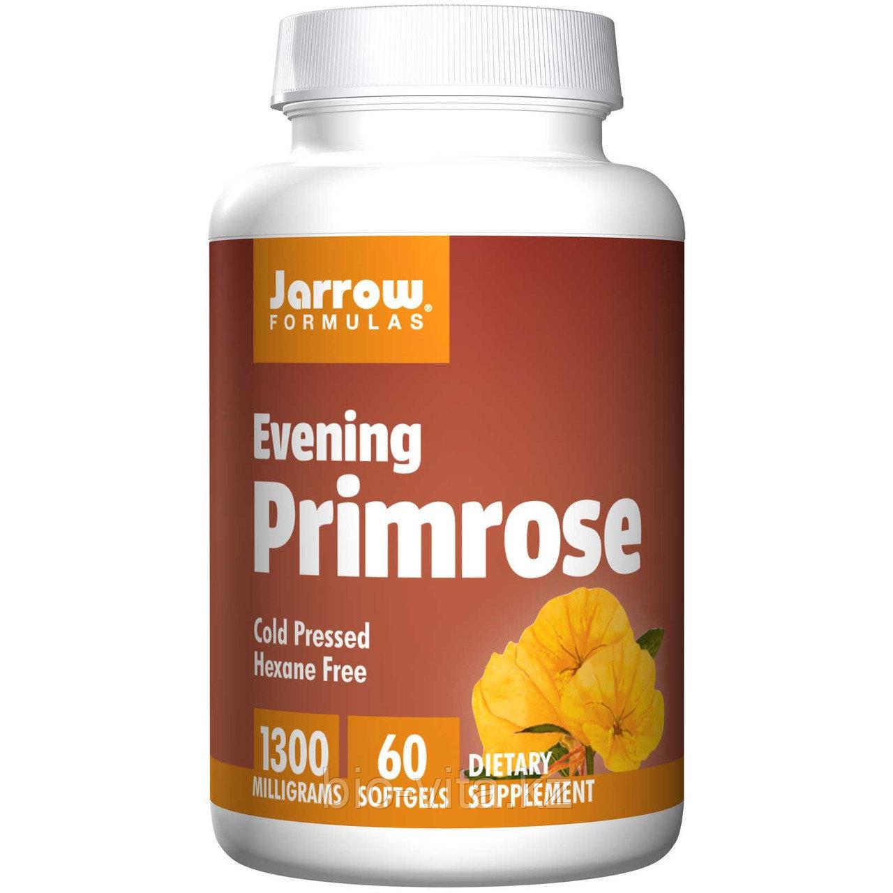 Jarrow Formulas,Масло вечерней примулы , 1300 мг, 60 капсул.