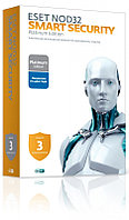 Антивирус ESET NOD32 Smart Security Family Platinum Edition - 2 года, 3ПК (NOD32-ESM-NS(BOX)-2-3 KZ)