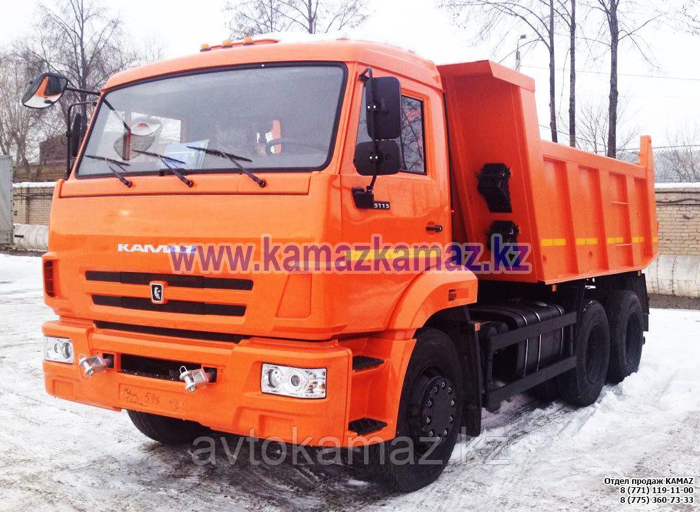 Самосвал КамАЗ 65115-6056-23 (Сборка РФ, 2017 г.)