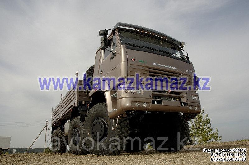 Бортовой грузовик КамАЗ 6560-6110-43 (Сборка РФ, 2017 г.)