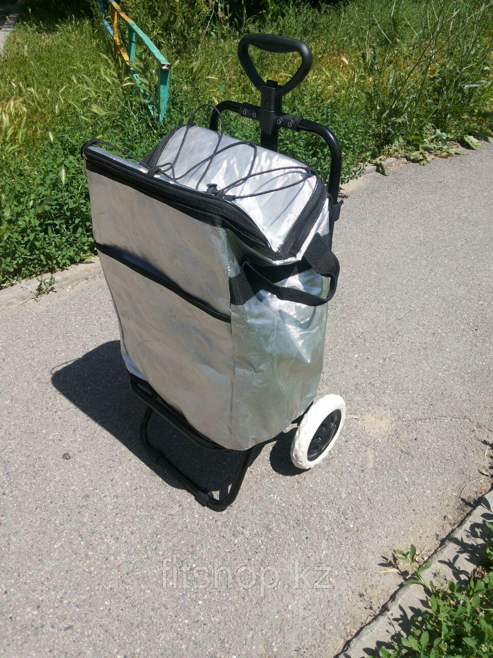 Термосумка 30 литров со съемными  колесами