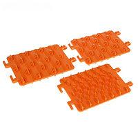Антибукс в сумке, оранжевый, 13,5х19,5x0,5 см, 3 шт