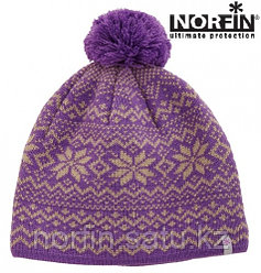 Шапка Norfin Women FINLAND VIOLET р.М