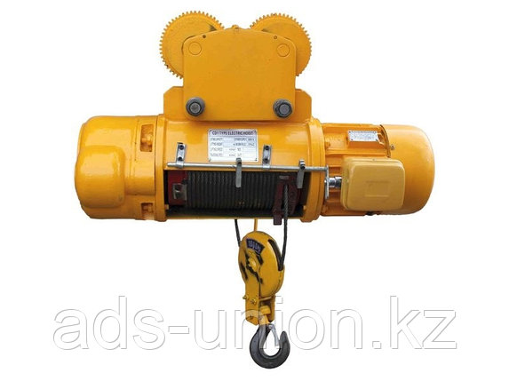 Тельфер электрический (CD)   г/п 2 тн 9 м , фото 2