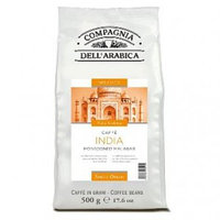 Compagnia Dell`Arabica India Malabar, зерно, 500 гр