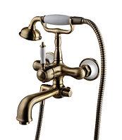 Бронзовый Смеситель для ванны с фиксированным изливом Lemark Villa LM4812B