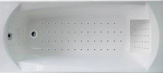 Акриловая гидромассажна. Элеганс НАНО 150*70 (Общий  6 форсунок, спина 30,ноги 20,дно 50 наноджетов)