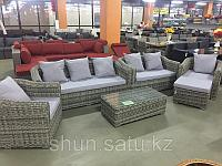 Комплект диван софа два кресла столик