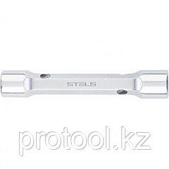 Ключ трубка торцевой усиленный , 8х10 мм, CrV // Stels