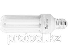 Лампа компактная люминесцентная, U-образная, 20W, 2700K, E27, 8000ч., Stern