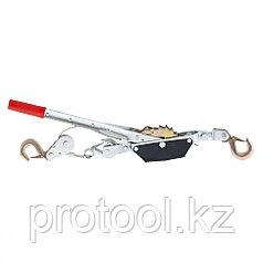 Лебедка рычажная, тяга - 1,5 т, подъем - 0,6 т, одинарное храповое колесо// SPARTA