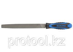 Напильник плоский 200 мм, двухкомпонентная рукоятка // БАРС