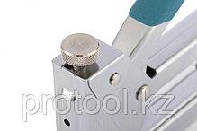 Степлер мебельный регулируемый (Handwerker), стальной корпус, тип скобы 53, 4-14 мм// GROSS, фото 2