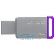 Flash Drive 8GB KINGSTON 3.0 Kingston DT50 silver USB
